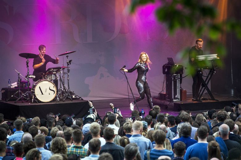 Astrid S under Pstereofestivalen i 2016. (Foto: Finn Walther)
