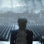Dragedronningen Daenerys holder tale for troppene sine i siste episode ut av