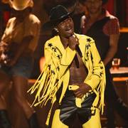FILE - This June 23, 2019 file photo shows Lil Nas X performing