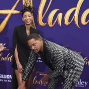 Will Smith og datteren Willow Smith fotografert på premieren til