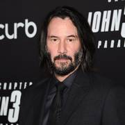 FILE - In this May 9, 2019 file photo, actor Keanu Reeves attends the world premiere of