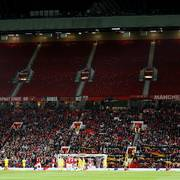 Soccer Football - Europa League - Group L - Manchester United v Astana - Old Trafford, Manchester, Britain - September 19, 2019  General view of an empty upper stand during the match   Action Images via Reuters/Jason Cairnduff                       (Foto: JASON CAIRNDUFF)