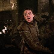 This image released by HBO shows Maisie Williams in a scene from