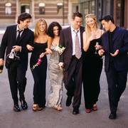 WAS08:ENTERTAINMENT-FRIENDS:LOS ANGELES,14MAY00 - The cast of NBC's