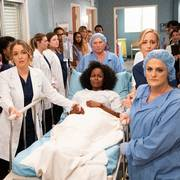 This image released by ABC shows the cast of
