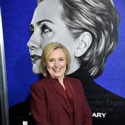 Former secretary of state Hillary Clinton attends the premiere of the Hulu documentary