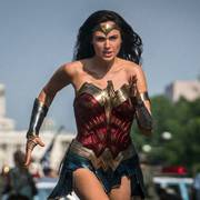 This image released by Warner Bros. Pictures shows Gal Gadot as Wonder Woman in a scene from