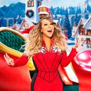 Mariah Carey performs during her holiday special