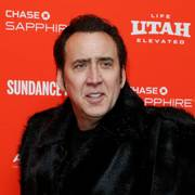 Actor Nicolas Cage poses at the premiere of