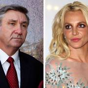 This combination photo shows Jamie Spears, left, father of Britney Spears, as he leaves the Stanley Mosk Courthouse on Oct. 24, 2012, in Los Angeles and Britney Spears at the Clive Davis and The Recording Academy Pre-Grammy Gala on Feb. 11, 2017, in Beverly Hills, Calif.. Britney Spears is welcoming public scrutiny of the court conservatorship that has allowed her father to control her life and money for 12 years. In a court filing Thursday, Sept. 3, 2020, Spears objected to her father's motion to seal a recent filing in the case. Spears says the public ought to see what moves her father and the court are making in her supposed interest. (AP Photo)
