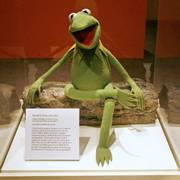 FILE - In this file photo from July 9, 2008, Kermit the Frog is seen at the Smithsonian Institution in Washington.
