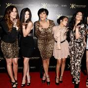 FILE - In this Aug. 17, 2011 file photo, from left, Khloe Kardashian, Kylie Jenner, Kris Jenner, Kourtney Kardashian, Kim Kardashian, and Kendall Jenner arrive at the Kardashian Kollection launch party in Los Angeles. After more than a decade, Keeping Up With the Kardashians is ending its run. It is with heavy hearts that we say goodbye