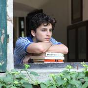 This image released by Sony Pictures Classics shows Timothée Chalamet in a scene from