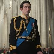 This image released by Netflix shows Josh O'Connor as Prince Charles in a scene from